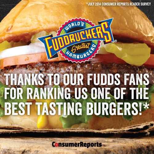 Frankford De Read Consumer: Fuddruckers Is Named One Of The Best Tasting Burgers By